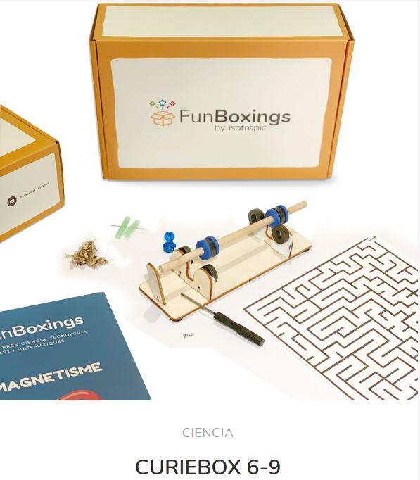 Caja Sorpresa Científica Curie Box