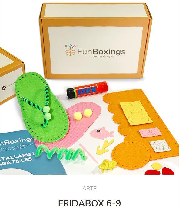 Caja Sorpresa de Arte: Frida Box
